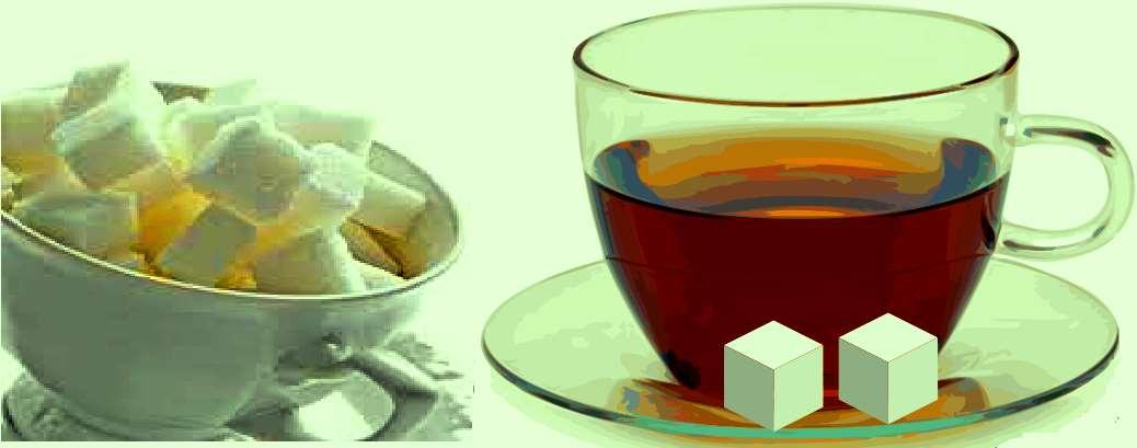 شما چای را به خاطر قند میخورید یا قند را به خاطر چای؟